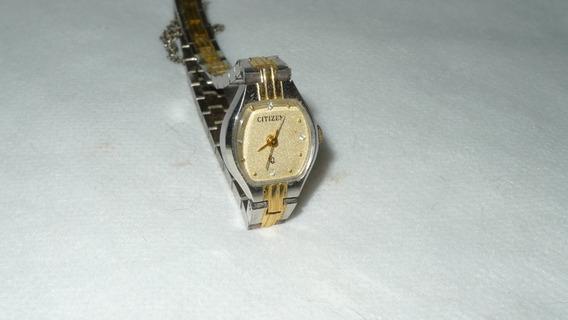 Relógio Citizen Feminino Antigo Bracelete Raro -casio-
