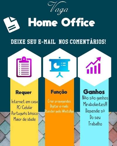 Renda Extra Com Home Office! Não É Necessário Experiencia!