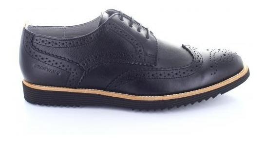 Zapato Para Hombre Brantano 1610-050333 Color Negro