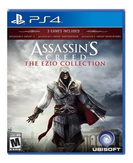 Assassins Creed Ezio Collection Ps4 Español Incluye 3 Juegos