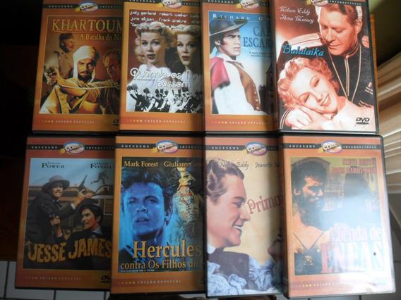 Coleção 8 Dvd - Clássicos Do Cinema (jesse James, Balalaika)