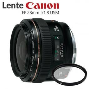 Lente Canon 28mm F/1.8 Usm Ef *usado*
