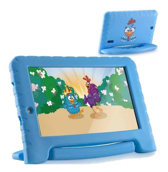 Tablet Infantil Galinha Pintadinha Multilaser 16gb + Nfe