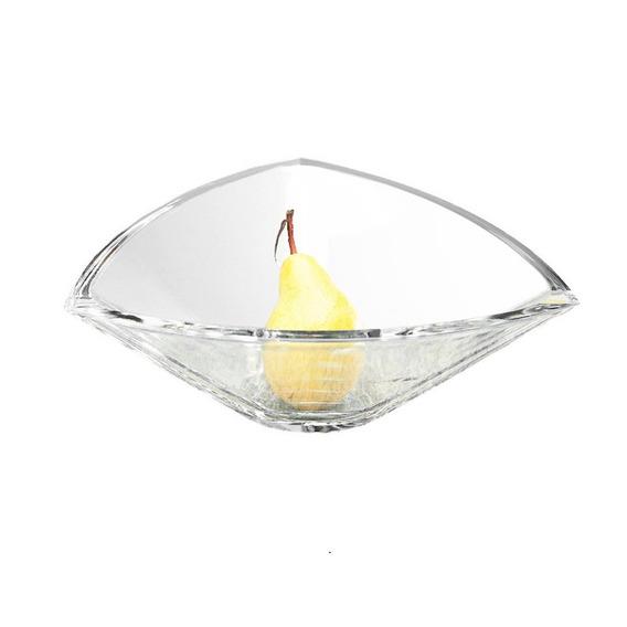 Saladeira Triangle 30,5cm Em Cristal Bohemia