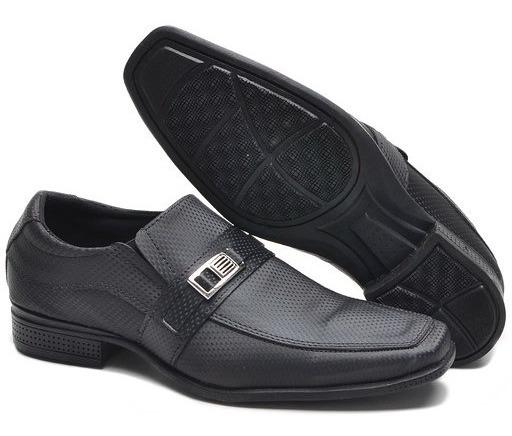 Sapato Social Masculino 3d(queima De Estoque, Não Tem Troca)