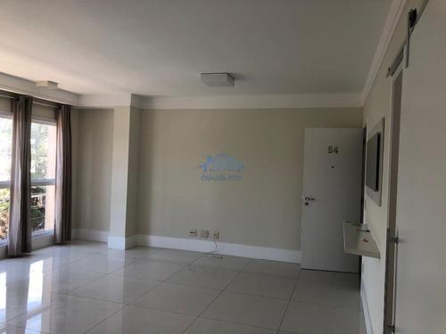 Imagem 1 de 30 de Apartamento Com 2 Dormitórios Para Alugar, 90 M² Por R$ 3.500/mês - Alphaville Conde Ii - Barueri/sp - Ap3919