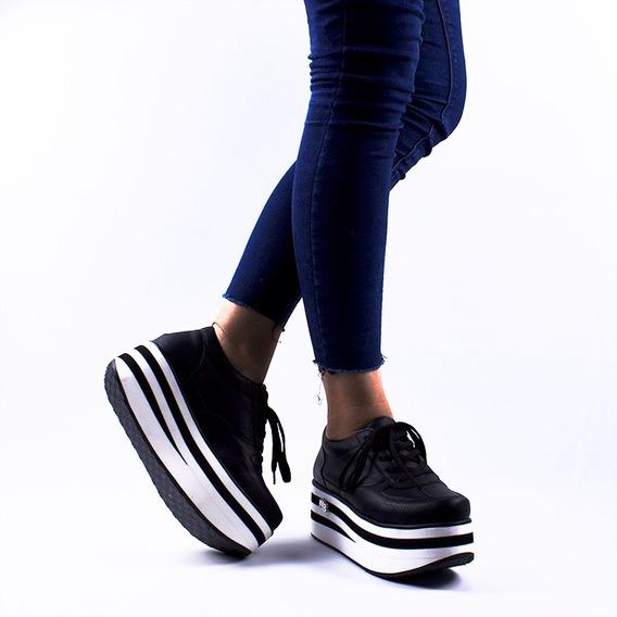 Zapatillas Urbanas Mujer Plataforma Sneakers Invierno 2019