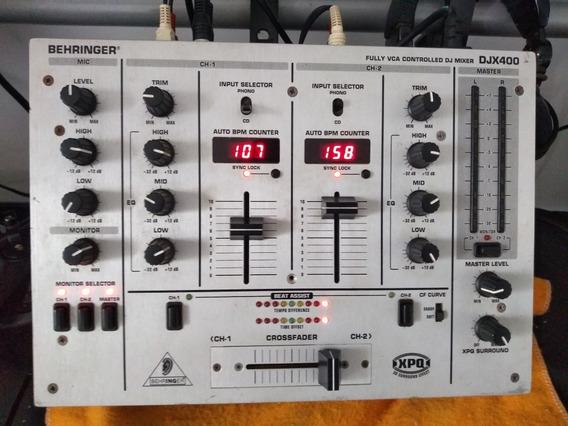 Mixer Behringer Djx 400