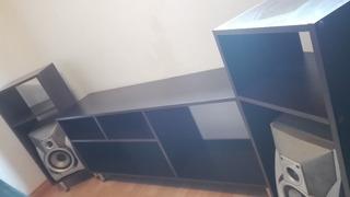 Rack Mueble Para Equipo Tv Led Plasma Modular