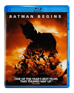 Batman Inicia Begins Christopher Nolan Pelicula Blu-ray