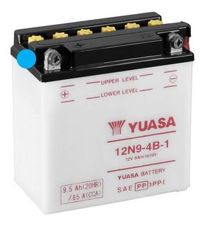 Batería Para Motos Yuasa 12n9-4b-1 12v 9ah Rouser 220 Y Mas