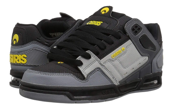 Zapatillas Osiris Peril Charcoal / Black / Yellow