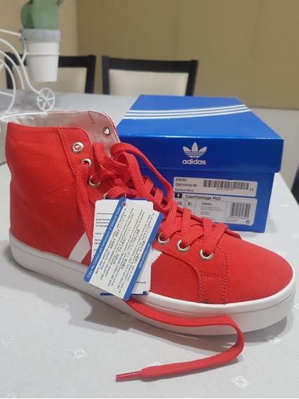 Zapatillas adidas Court Vantage Red