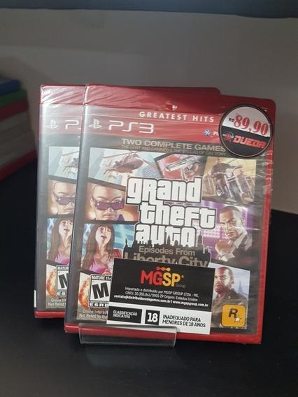 Gta Libert City Playstation 3 Lacrado