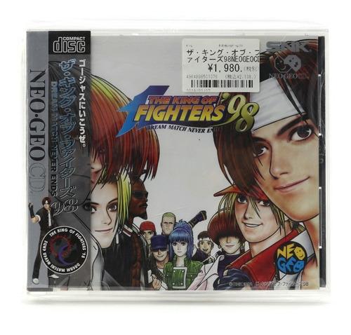 Jogo Snk Neogeo The King Of Fighters 98 Colecionador A12898