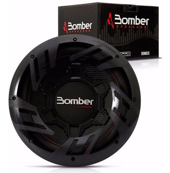 Subwoofer Bomber Carbon 12 250w Potencia No Bicho Papao