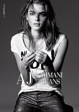 Armani Jeans , Pantalón Azul Para Dama Talla 27 / Italia