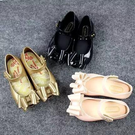 Mini Melissa Zapato Flat Niña 3 Colores 15 A 18 Cm