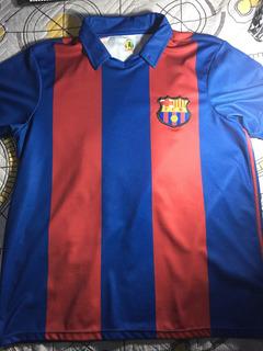 Camisa Barcelona Retro Jornal Lance