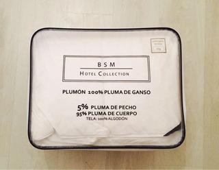 Plumon Plumas De Ganso Super King Hotel 290x240cm Premium