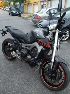 Sucata Moto Yamaha Mt 09 2015 Baixada No Detran