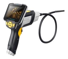 Câmera Inspeção Sonda Endoscópica Lcd Bastão Semi Rígida 5m
