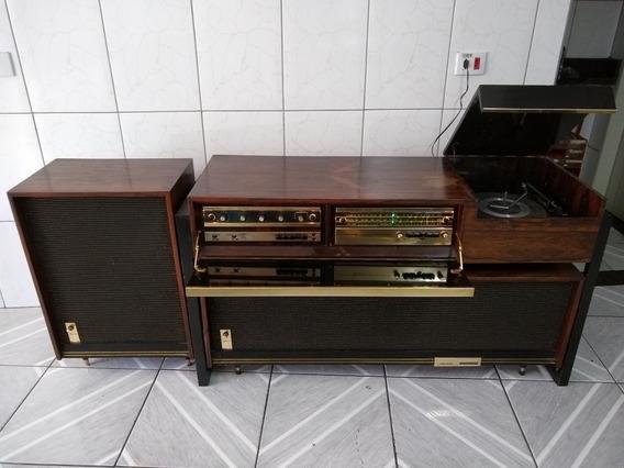 Rádio Vitrola Taterka Linear Válvulada Antiga ( Revisar ) Marantz Sansui Akai Telefunkem Philips Philco Toca Disco