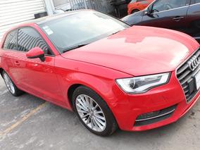 Audi A3 1.8 Ambiente Aut Rojo 2014