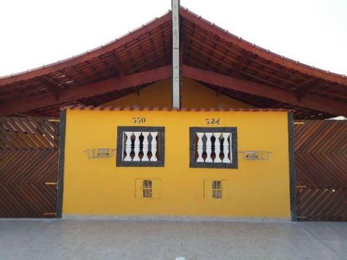 Boa Casa De 125 Mts No Jussara Em Mongaguá - 4121   Npc