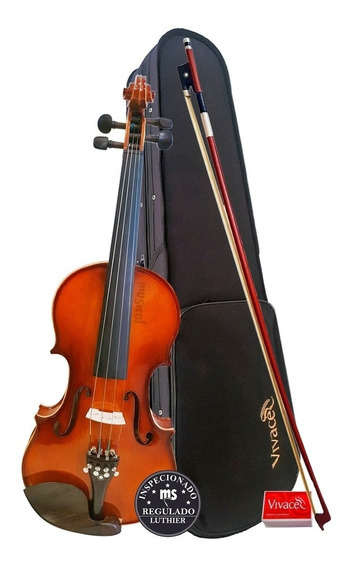 Violino 4/4 Vivace Be44 C/ Arco + Estojo + Breu Promoção!