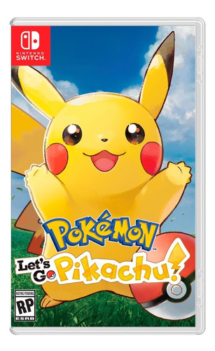 Imagen 1 de 1 de Pokemon Lets Go Pikachu Nintendo Switch Sellados