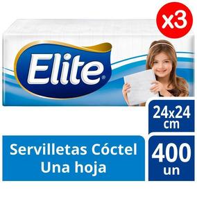 Servilleta Elite Una Hoja Pack X3 1200und Tienda Oficial