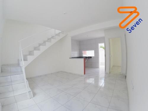 Imagem 1 de 9 de Casa Em Condomínio Para Venda Em Parnamirim, Nova Parnamirim, 3 Dormitórios, 2 Banheiros, 1 Vaga - _1-1705756