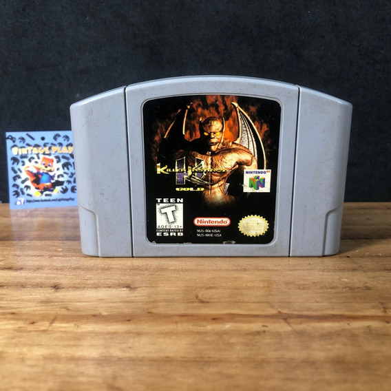 Killer Instinct Gold 100% Original P/ Nintendo 64