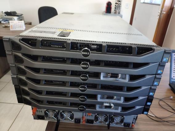 Servidor Dell R610 (2x Six, 32gb, 2x 600gb, 2x Fonte)