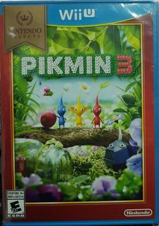 Pikmin 3 - Wii U Nuevo Y Sellado