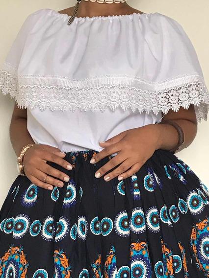 Roupa Umbanda Candomblé Camisu Ciganinha