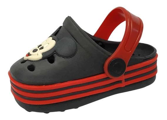 Babuche Infantil Masculino Chinelo Crocs Mickey Full