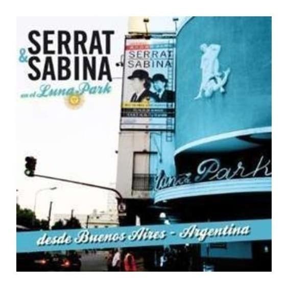 Serrat & Sabina En El Luna Park Argentina Cd + Dvd Nuevo