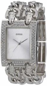 Relógio Guess Strass W95088l1 2 Correntes Lindo!