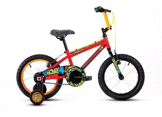 Bicicleta Mercurio Infantil Spyro Ruedas Entrenadoras Rod 16