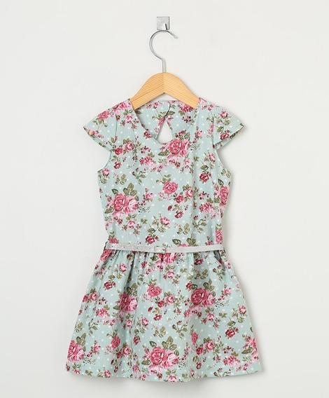 Vestido Infantil Rala Kids Floral