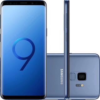 Samsung Galaxy S9+ G9650z 128gb Dual 4g 12mp Azul Vitrine 2