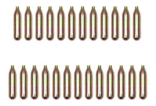 Co2 Caixa Kit 25 X Cilindro 12g Pistola Airsoft 12 Gramas