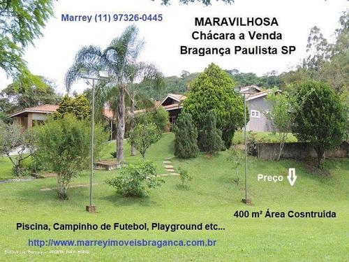 Imagem 1 de 15 de Sítio / Chácara Para Venda Em Bragança Paulista, Linda Chácara 3.000 M² At E 400 M² Ac, 3 Dormitórios, 1 Suíte, 3 Banheiros, 10 Vagas - 3041_1-1537939