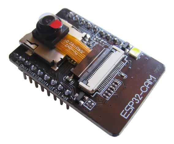 Esp32 Cam Wifi Bluetooth Ov2640 Com Câmera