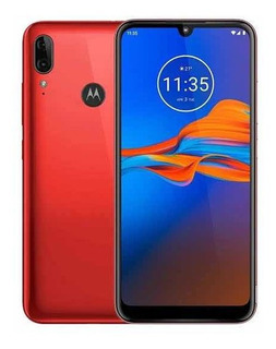Motorola E6 Plus Color Rojo Telcel Liberado