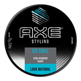 Cera Axe Ice Chill Acabado Suave Look Natural X 75 G