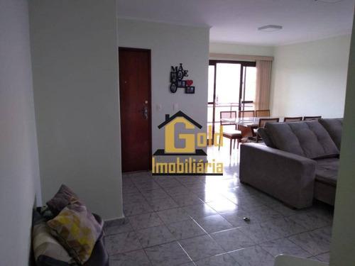 Apartamento Com 3 Dormitórios À Venda, 115 M² Por R$ 300.000,00 - Parque Dos Bandeirantes - Ribeirão Preto/sp - Ap2061