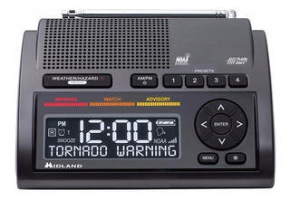 Midland Wr400 Radio De Alerta Meteorlogica Am/fm All Hazard